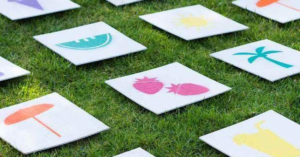 Activités manuelles et jeux enfants en plein air en 20 idées ...