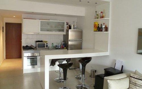 Muebles De Cocina Para Monoambiente Ideas Departamentos