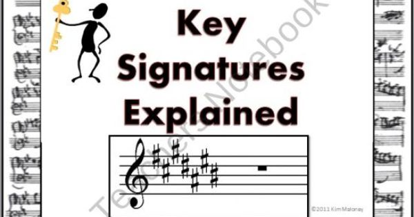 keys and key signatures explained ppt and worksheets product from musicteacherresources on. Black Bedroom Furniture Sets. Home Design Ideas