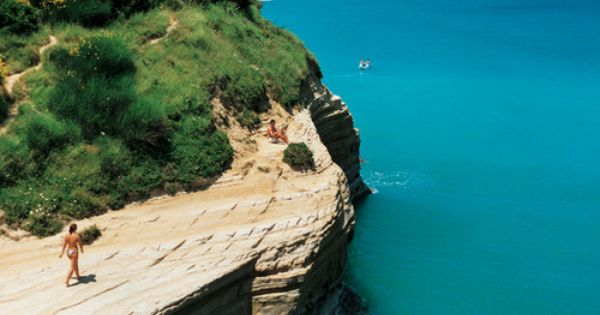 CORFU, GREECE Corfu isn't just for boozing 'n' bonking package-holiday Brits: There