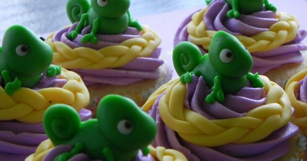 @Kelli Hugo --Pascal (Tangled) cupcakes. It's never too early to start thinking