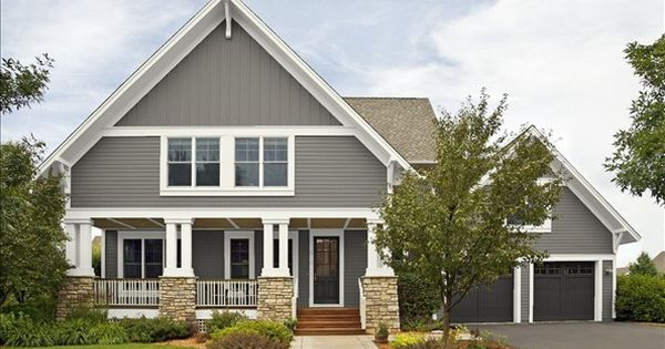 Benjamin Moore Chelsea Gray White Dove Black Beauty Exterior Paint Colors Pinterest