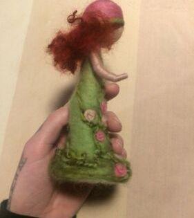 Puppe Gefilzt Waldorf Oko Natur Jahreszeitentisch Schurwolle In Thuringen Jena Basteln Handarbeiten Und Kunsthandwerk Eb Kunsthandwerk Handarbeit Filzen