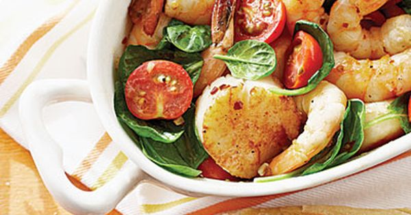Dinner in a Breeze: Broiled Shrimp and Scallops - 26 Scallop Recipes
