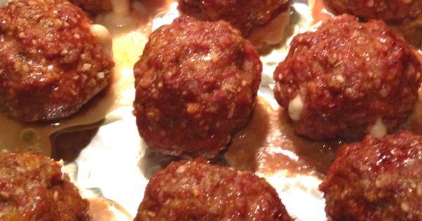 Italian meatballs, Mozzarella and Italian on Pinterest