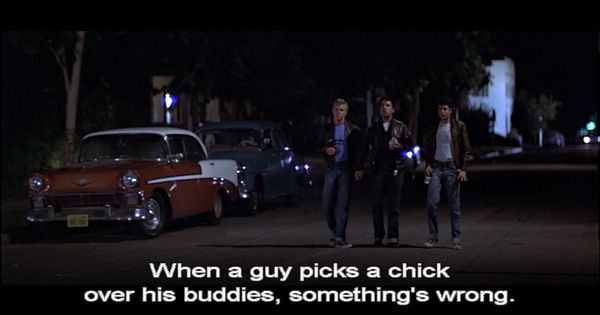 One of the best quotes of the movie!! | Grease is the Word ...
