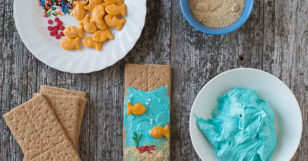 Under The Sea Graham Crackers Recipe Discover Best