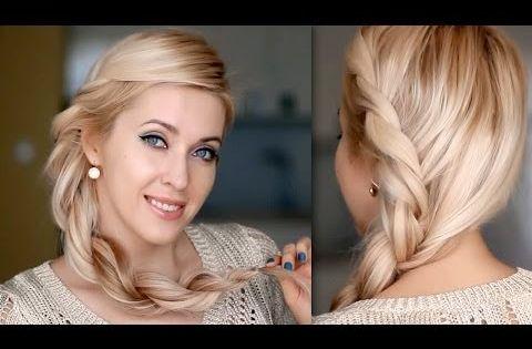 tuto coiffure romantique cheveux longs facile faire soi m me youtube id es coiffures. Black Bedroom Furniture Sets. Home Design Ideas