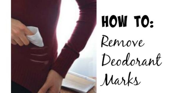 How To Remove Deodorant Marks Places The O 39 Jays And