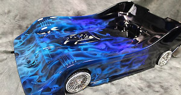 Custom Painted Rc Photo 1 8 Scale Onroad Body Race Nitro Fits 1 8 Rc Cars Car Painting Custom Paint