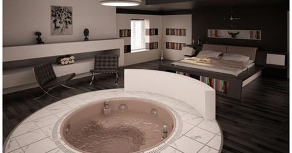 afbeeldingsresultaat voor luxe slaapkamer met jacuzzi | zuid-tirol, Deco ideeën