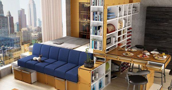 multipurpose furniture for small spaces google search multipurpose furniture pinterest. Black Bedroom Furniture Sets. Home Design Ideas