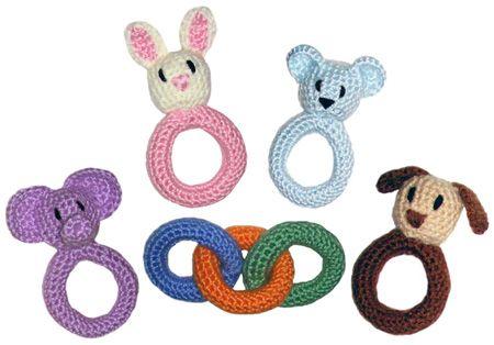 Baby Rattles from Crochet Spot