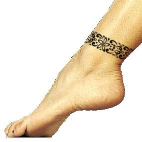 Tattoo Of Aka Roots Tattoo Tattootribes Com Ankle Band Tattoo Ankle Tattoo Designs Band Tattoo