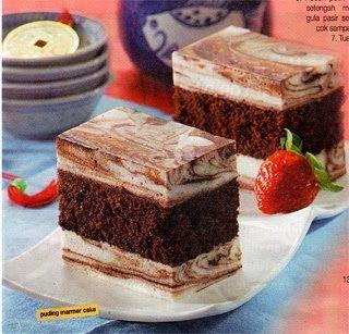 Aneka Resep Puding Cake Marmer Cokelat Food Mini Cheesecake Cheesecake