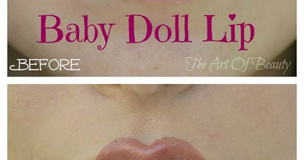 The Art Of Beauty ~ Baby Doll Lip Tutorial | Also useful