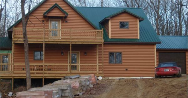 Timbermill Siding Home Done In Log Profile American