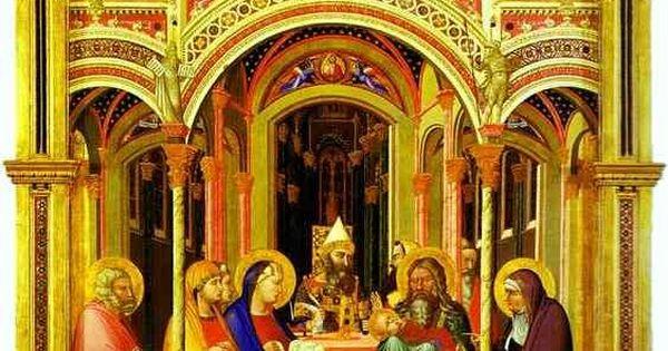 Italian Florence: 1342 The Presentation In The Temple. Uffizi Firenze