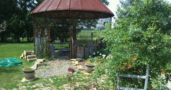 My Corn Crib Gazebo Favorite Places Spaces Pinterest