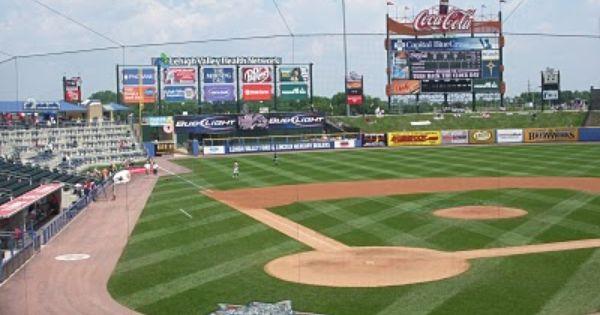 Inside Cheez Ballpark Tour Allentown Pa Trip Tours Places To Go