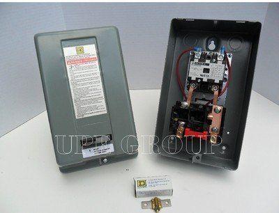 Motor Starter Dp 208 240v 2p 30a Nema 1 Magnetic Motor Rv Air Conditioner Magnets