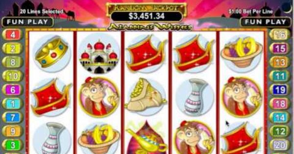 aladdin s wishes slots reviews