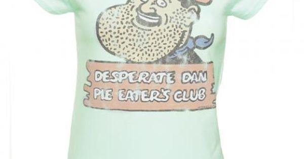 ... Desperate Dan Pie Eaters Club T-Shirt | My Wardrobe | Pinterest | Pies