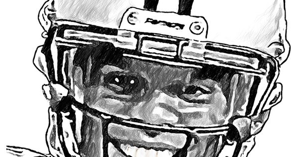 printable cam newton coloring pages - photo#35