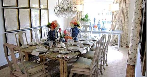 Gustavian Belgian Dining Room Decorating Framed Art Prints