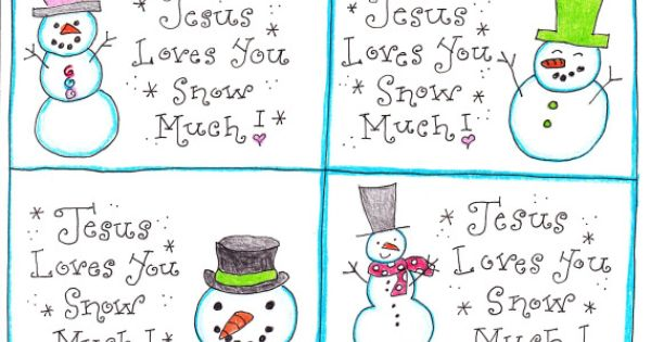 Jesus Loves You Snow Much A Happy Home Winter Challenge