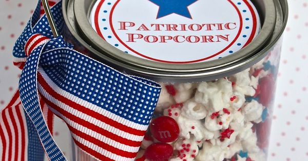 bloom designs: Make It Monday- Patriotic Popcorn for Fourth of July