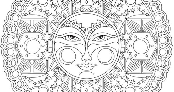 celestial coloring pages - photo#13
