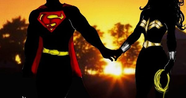 Superman/Wonder Woman Sunset