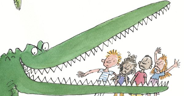 Roald Dahl's The Enormous Crocodile, illustrated by Quentin Blake
