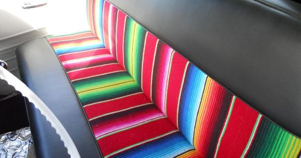 mexican blanket seat cover refined my style pinterest seat covers mexicans and blanket. Black Bedroom Furniture Sets. Home Design Ideas