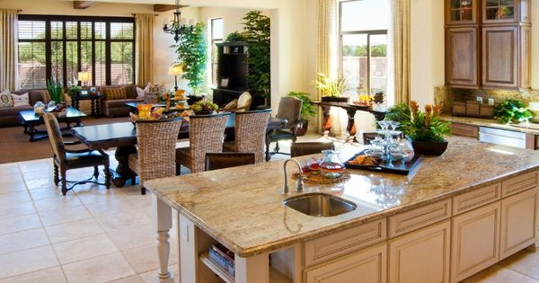 Open Kitchen In A New Home By Taylor Morrison Kitchens