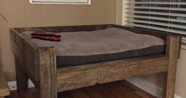 Ryobi Nation High Rise Dog Bed Wood Dog Bed Crib Mattress Dog Bed Wooden Dog Bed