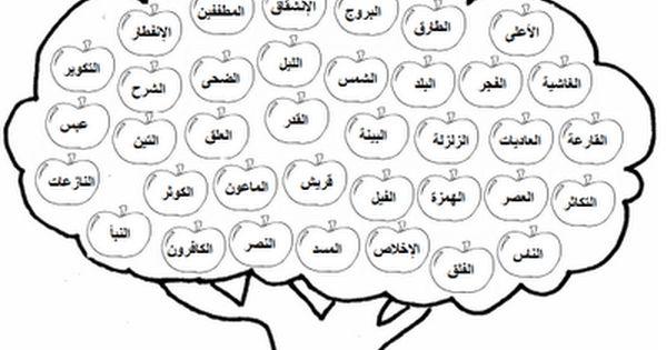 سوبر حوا شجرة حفظ جزء عم Muslim Kids Activities Islamic Kids Activities Arabic Kids