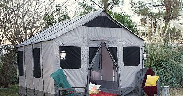 Spacious Barebones Safari Tent Feels Like Home