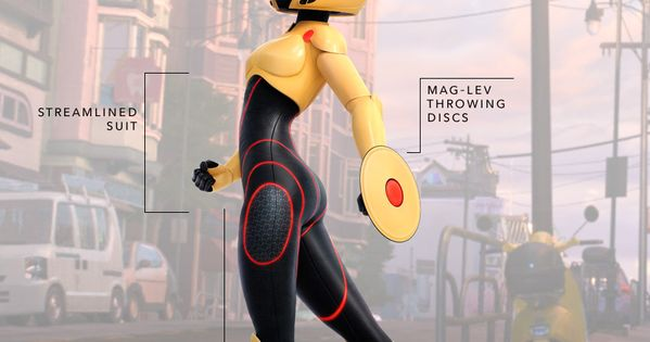 Anatomy of a Disney Character's Style   Big Hero 6 Edition Next