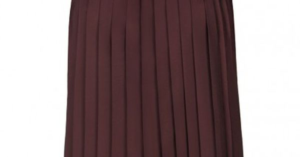 oxblood pleated top from all saints