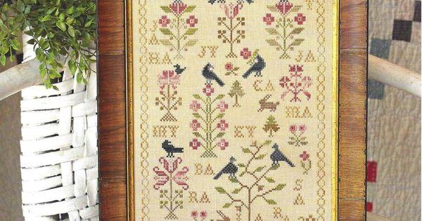 Mother 39 s garden blackbird designs cross stitch for Blackbird designs strawberry garden