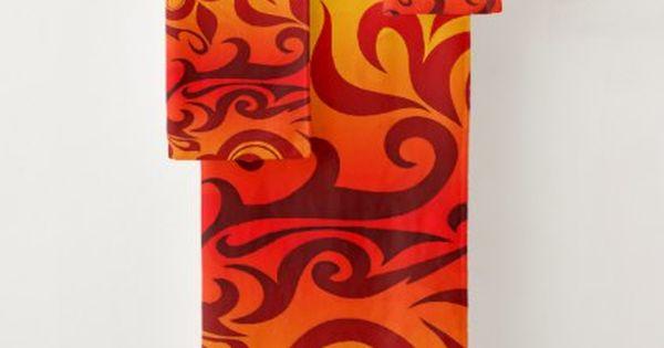 Fiery Curves Of Red Orange Gold Bath Towel Set Zazzle Com