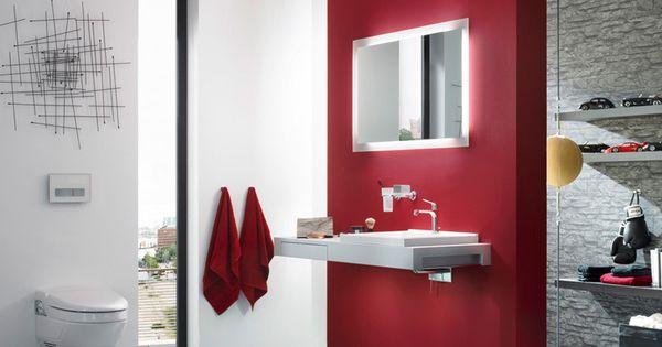 Design badezimmer mit beleuchtung und waschbecken for Design badezimmer beleuchtung