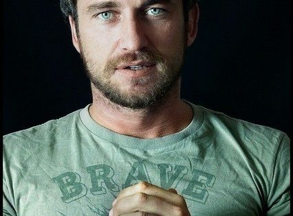 Gerard Butler, my one and only celeb crush haha
