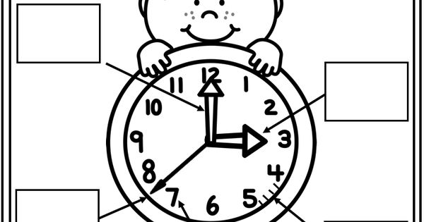 Parts Of A Clock Worksheet on Free Printable Blank Clock Faces Worksheets Math Thinks