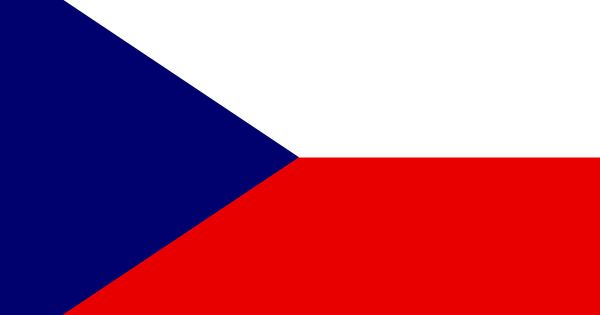 czech republic flag colors