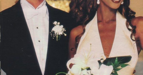 Bowie and Iman... Throwback wedding! :)