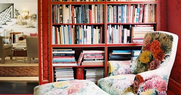 Reading spot... perfect book nook