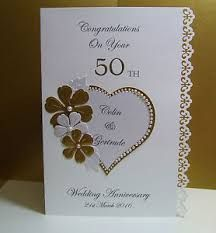 Handmade Ru Wedding Anniversary Card Handmade Cards Marriage